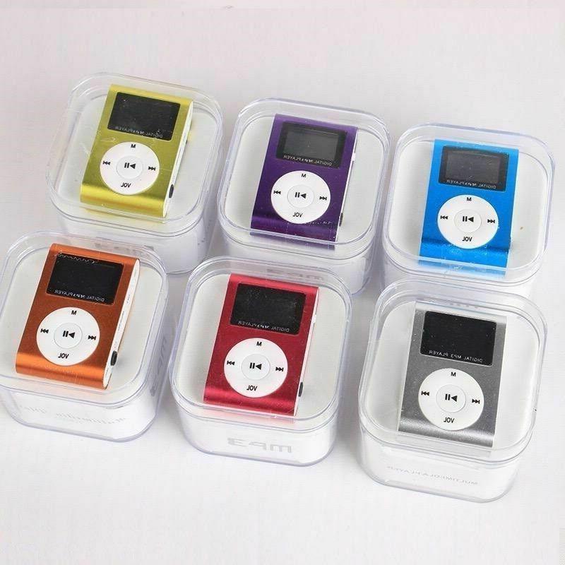 MP3 Player Screen FM Small Micro SD