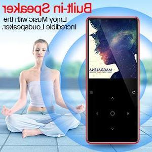 GREATLINK with Built-in HiFi Music Player Multifunction Slim MP 3 Player 1.8 Screen Radio Ebook Clock MP Mini Music