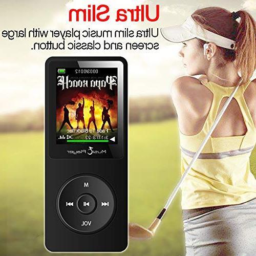 GREATLINK 8GB MP3 with Built-in HiFi Music Multifunction MP 1.8 Screen Radio Voice Recorder Clock MP 3 Mini