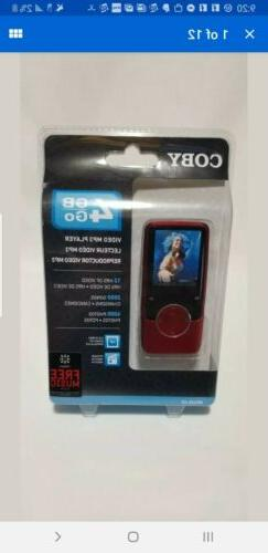 Coby MP620 Red  Digital Media Player