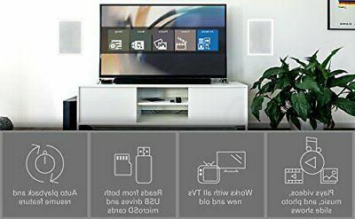Micca MPLAY-HD Mini Full-HD Digital Media Player for USB and SD