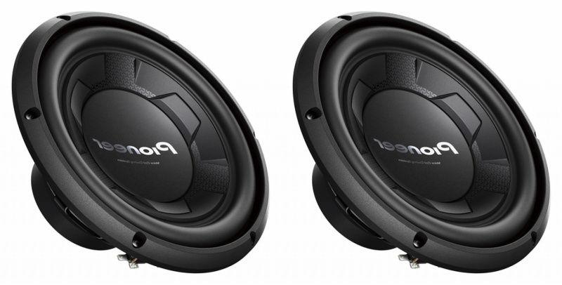 "NEW  10"" Pioneer Subwoofer Bass.Replacement Speakers.4ohm.SV"