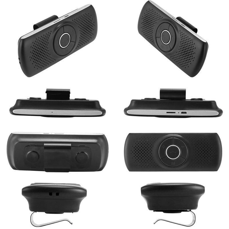 New Bluetooth 4.2 Speakerphone Stereo Car Handsfree Music <font><b>Receiver</b></font> - T826