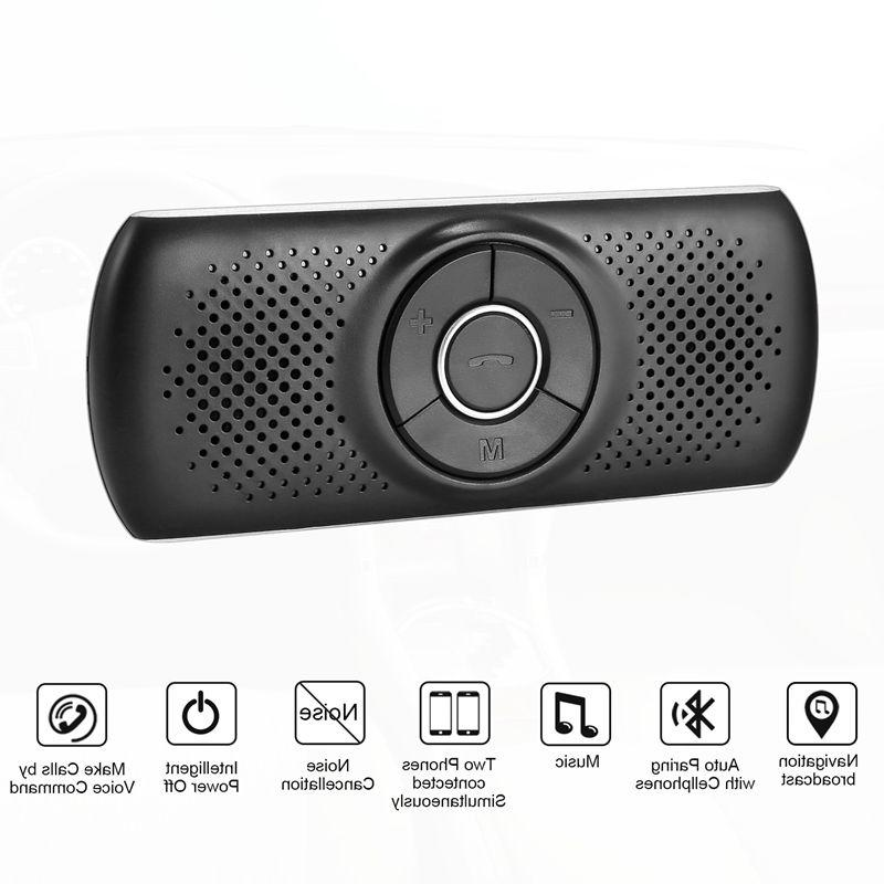 New 4.2 Speakerphone Aux Car Kit Music <font><b>Receiver</b></font> T826