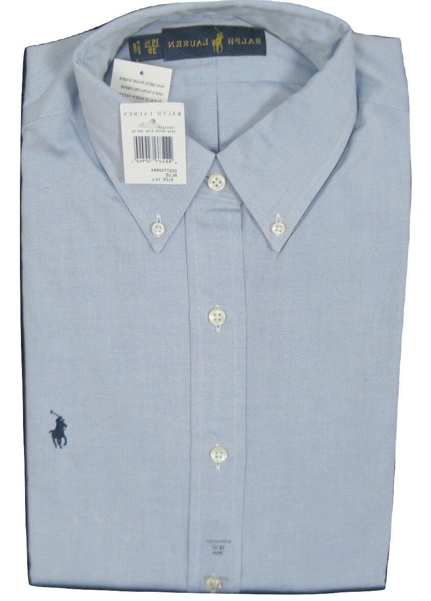 NEW Ralph Dress Shirt! Blue *US Sizing* Polo Player