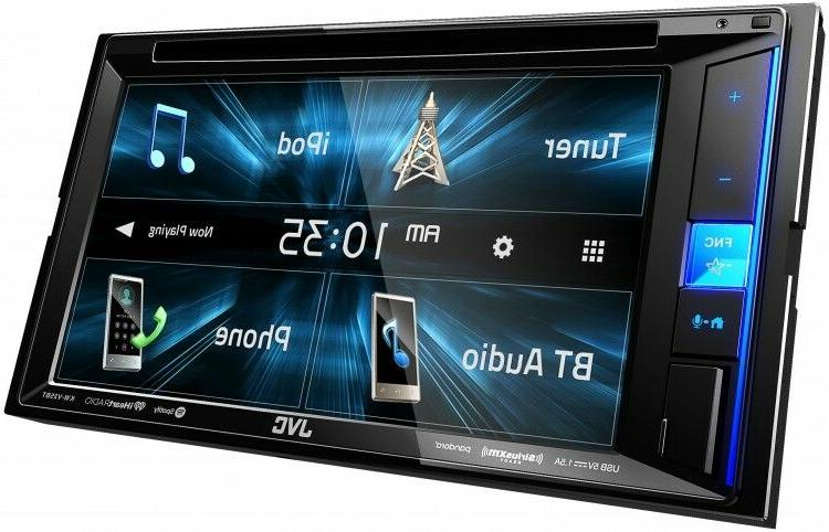 NEW JVC Touchscreen Double Din DVD Player Car