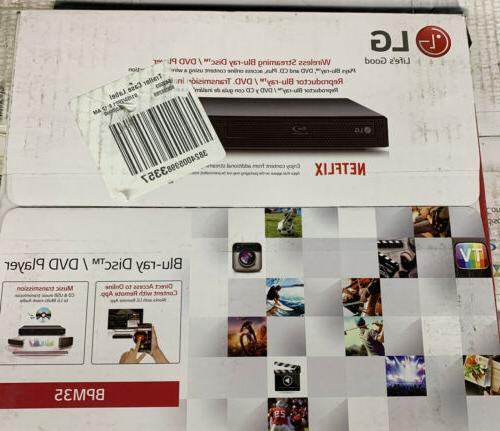 new wireless streaming blue ray disc dvd