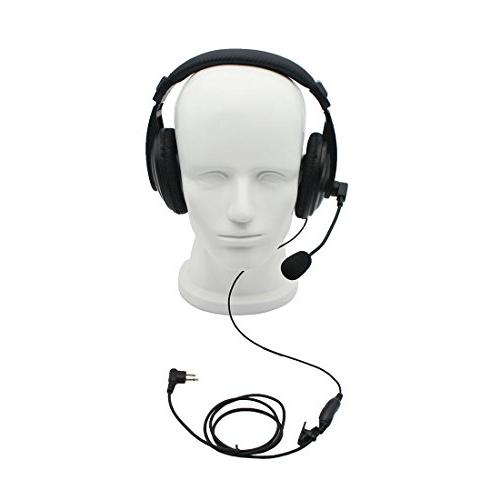 noise cancelling radio overhead headsets