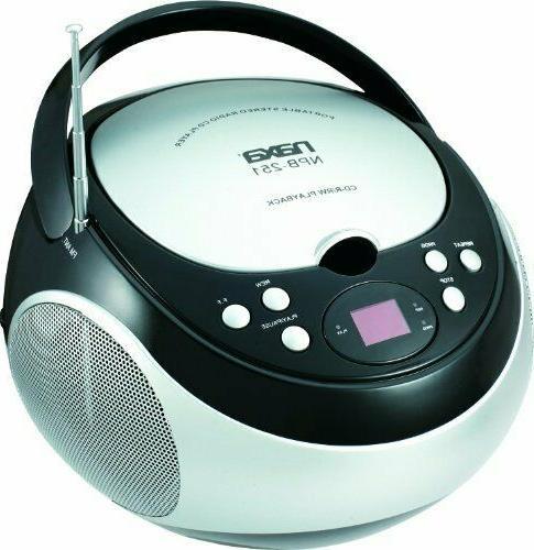 NAXA Electronics Portable CD Stereo