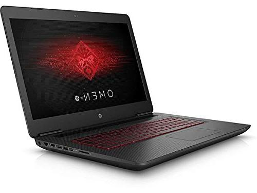 "HP Omen 17.3"" Laptop, Display, Core GTX1070 16GB DDR4, 1TB PCIe,"