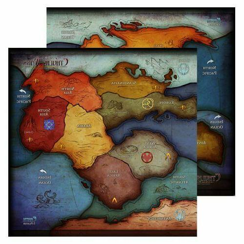 oversized 3 5 player earth map cw