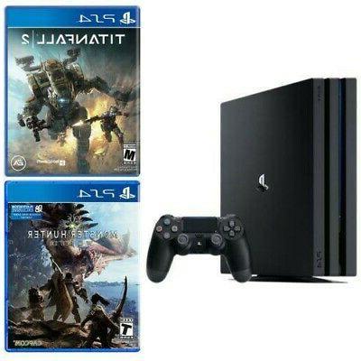 playstation 4 pro 1tb console black