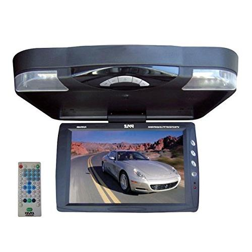 Pyle Mount TFT-LCD Monitor w/ Built DVD