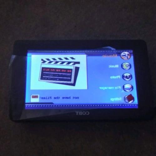 pmp 7040 portable media player 7 lcd