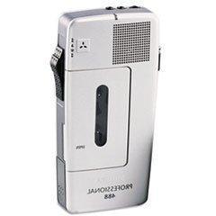 -- Pocket Memo 488 Slide Switch Mini Cassette Dictation Reco