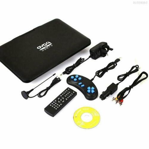 """13.9"""" DVD HD CD Player 270° LCD Widescreen Reader Player"""