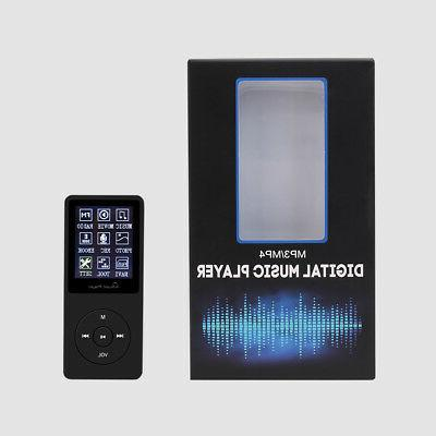Multifunction 8GB Playback Sound MP3 Player w/ Radio