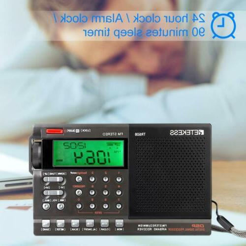 Retekess Radio Alarm Sleep Timer for