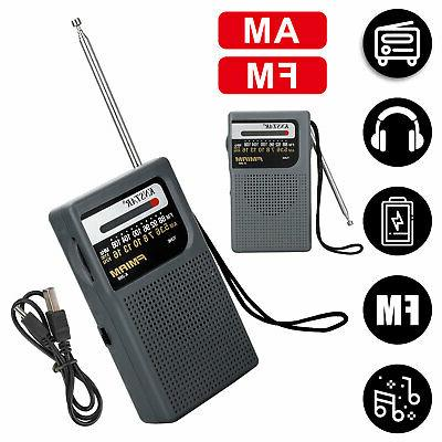 portable am fm radio w pointer design