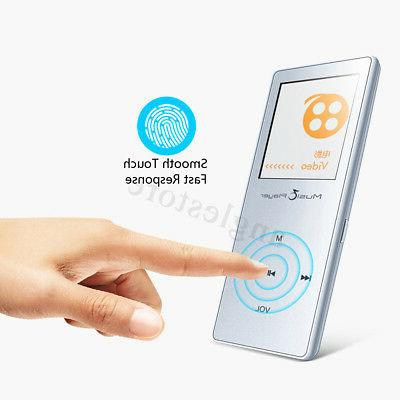 Portable bluetooth Lossless Music Walkman FM