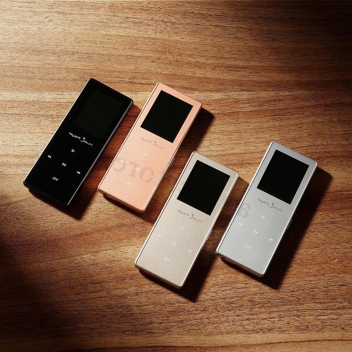 Portable Music MP3/MP4 FM Pedometer 8GB