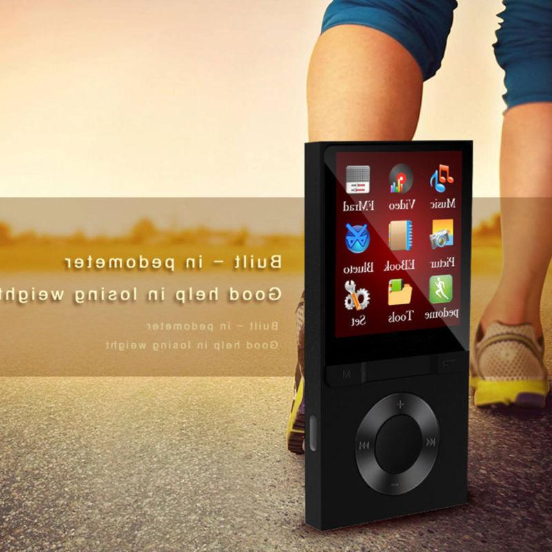 Portable MP3 Player with FM Lossless Support 128GB