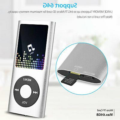 Portable Music Player with Support up w/