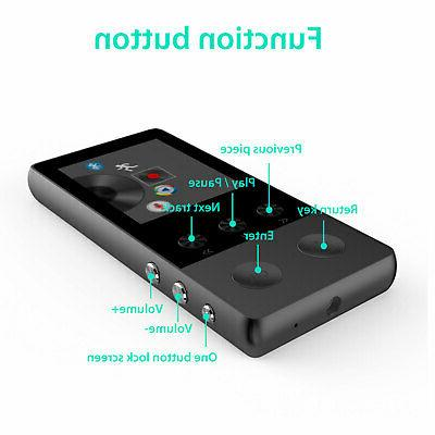 Portable Bluetooth Music Player Lossless Support up to 64GB