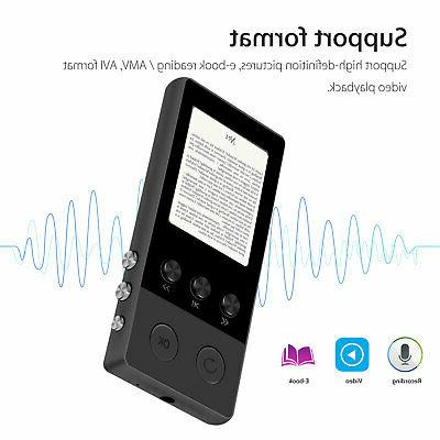 HiFi MP3 Music Player with FM Recorder