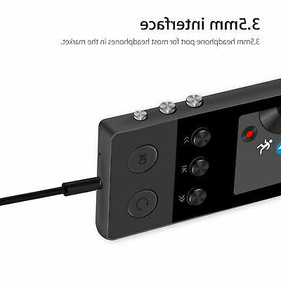 Portable Bluetooth Music Player FM Lossless Support up 64GB