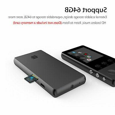 Portable Multifunction Lossless Music Bluetooth Support 64GB