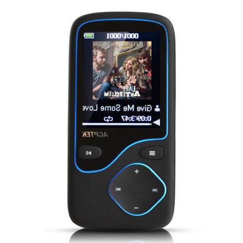 Agptek 8GB MP3 Radio 12 Lossless Playing