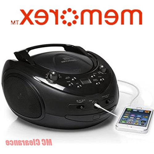 Memorex Portable CD Boombox Sport MP3221 Sport Stereo with A