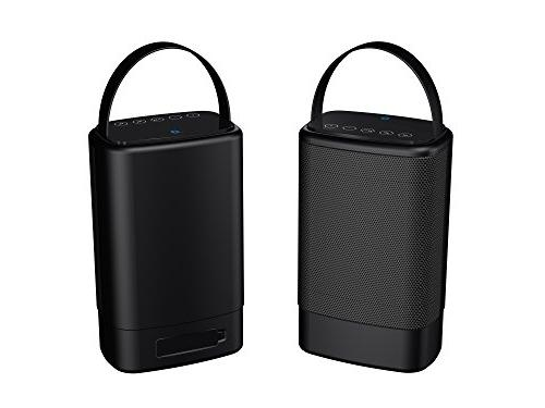 portable dual bluetooth speakers