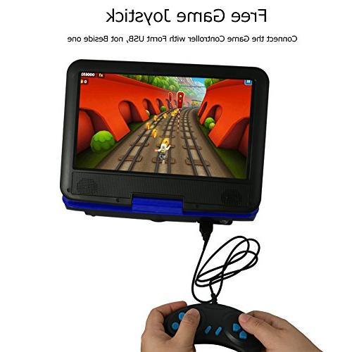DOUX Portable DVD/CD/MP Player Hour USB/SD Card Your Choose