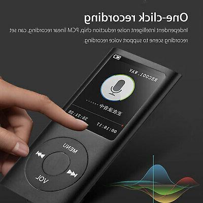 Portable HiFi MP3 Player Sound Recorder + earphone
