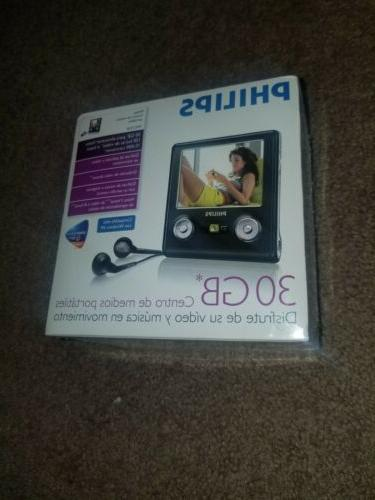 Philips Portable Media Player Music Movie Player BRAND