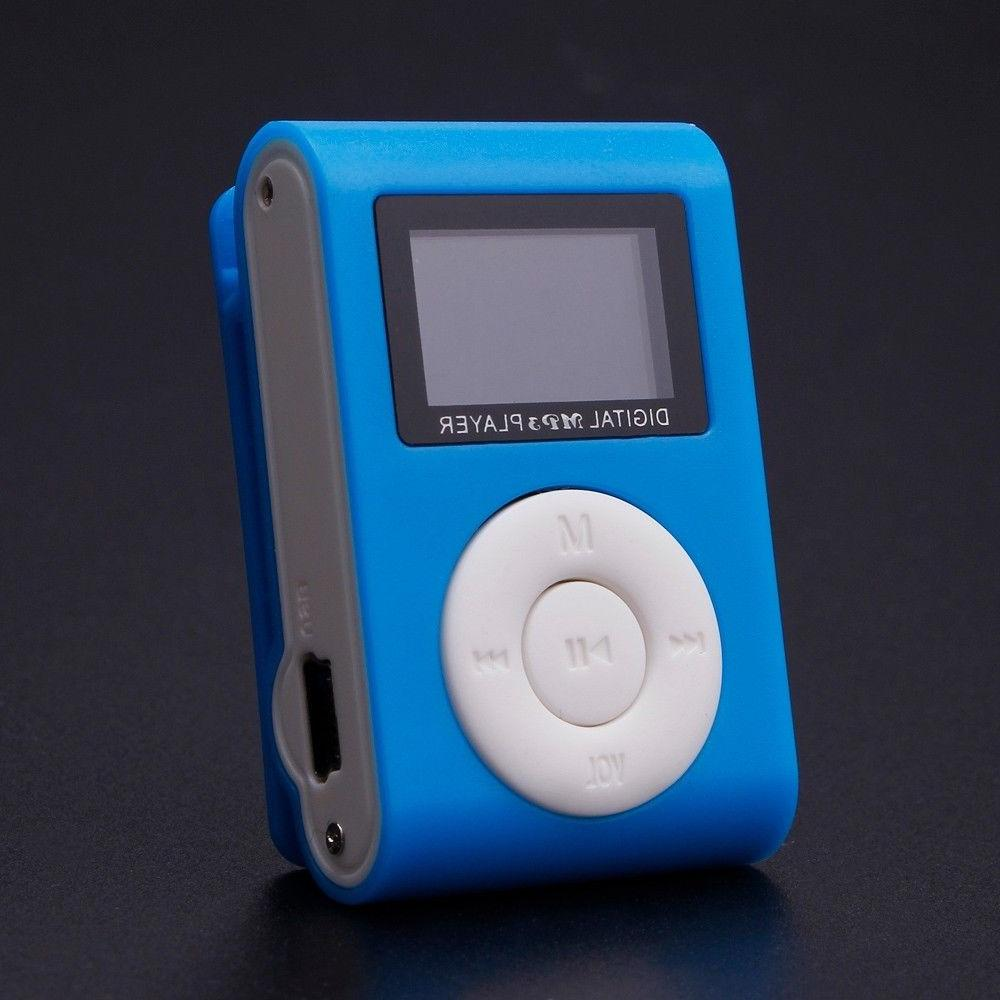 Portable USB Digital MP3 Support 32GB SD TF