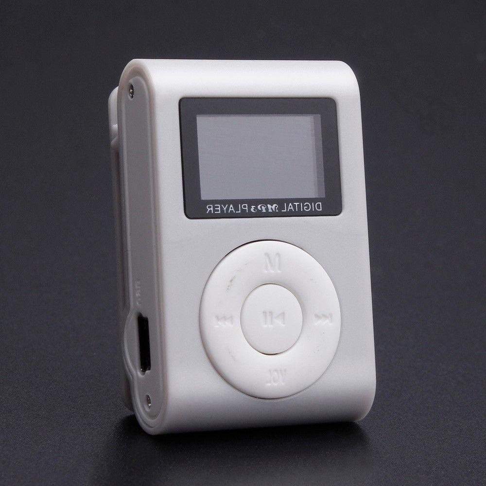 Portable MP3 Screen Support Micro SD TF