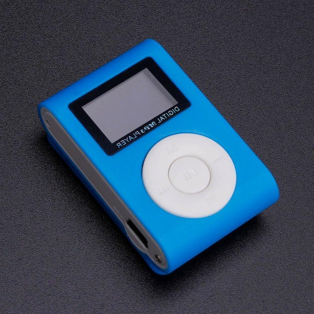 Portable Mini USB MP3 LCD Support 32GB TF Card