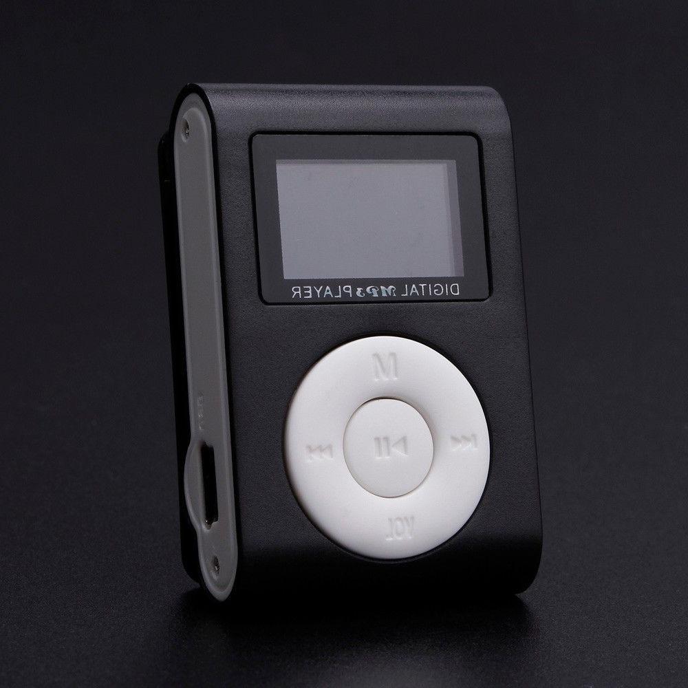 Portable USB MP3 Screen Support 32GB Micro TF Card