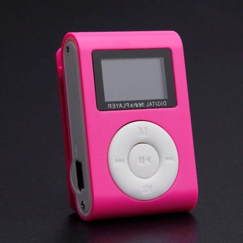 Portable Mini USB Digital MP3 Player LCD Screen Support 32GB TF