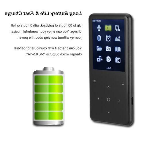 Portable Bluetooth Player with Lossless Support 128GB