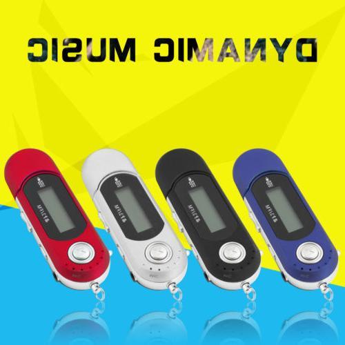 Portable USB LCD Screen Support FM Radio