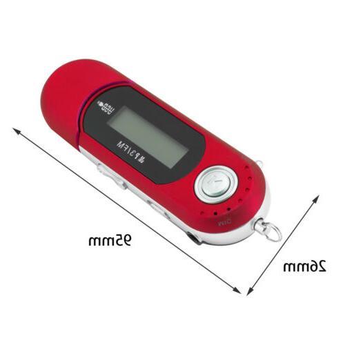 Portable Music USB Screen Support 32GB FM Radio