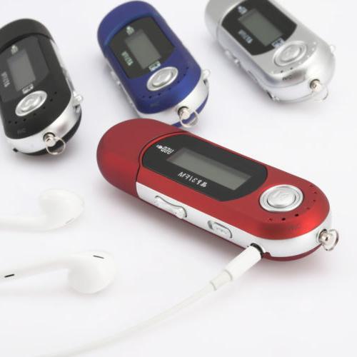 Portable Music MP3 Support 32GB TF FM Radio