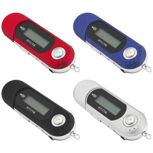 Portable Music MP3 Player USB Digital LCD Screen Support 32G