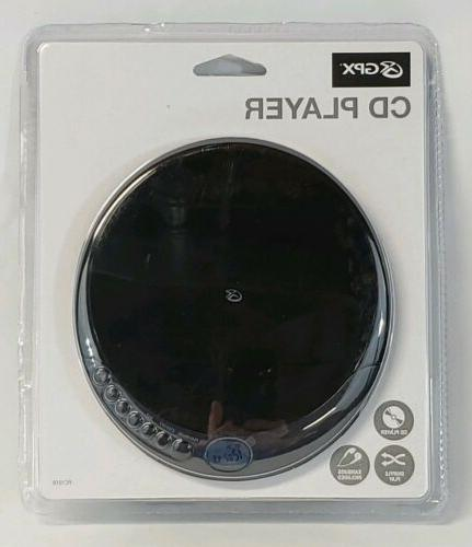 GPX Portable Stereo CD player LCD NEW