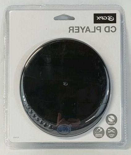 portable stereo cd player pc101b with earbuds