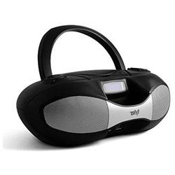 Tyler Portable Sport Stereo MP3CD Boombox Player TAU104-BK w